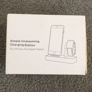 iPhone and Apple Watch charging station